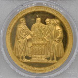 1828年 ハンブルク憲法改正記念 ポルトガレッサー SP63+ PCGS ...